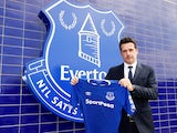 Marco Silva is unveiled as the new Everton manager on June 4, 2018