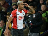 Mario Lemina in action for Southampton on February 3, 2018