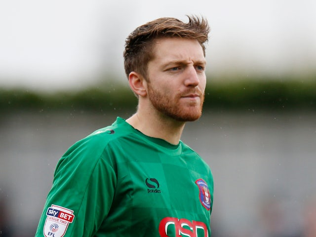 Well sign Walsall keeper Gillespie