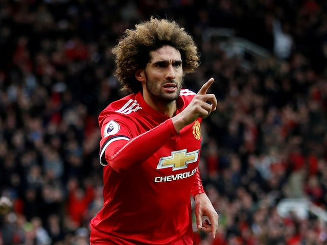 Report: Arsenal to hold talks with Fellaini