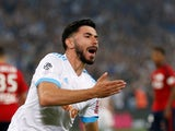 Morgan Sanson in action for Marseille on May 19, 2018