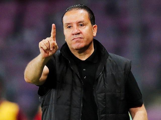 Tunisia manager Nabil Maaloul on June 1, 2018