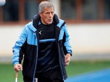Uruguay manager Oscar Tabarez on November 13, 2017