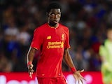 Ovie Ejaria in action for Liverpool in July 2016