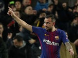 Paco Alcacer in action for Barcelona on December 5, 2017