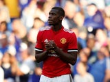 Paul Pogba in action for Manchester United during the FA Cup final on May 19, 2018