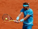 Rafael Nadal at the 2018 French Open