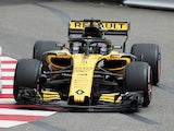 Renault's Nico Hulkenberg during practice for the Monaco Grand Prix on May 24, 2018