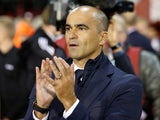 Belgium manager Roberto Martinez on October 10, 2017
