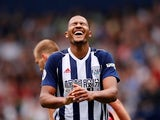 West Bromwich Albion striker Salomon Rondon in action during a Premier League clash with Liverpool in April 2018