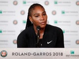 Serena Williams confirms her exit from the French Open on June 4, 2018
