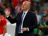 Russia manager Stanislav Cherchesov on May 30, 2018