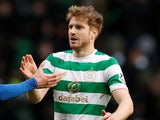 Stuart Armstrong in action for Celtic on December 30, 2017