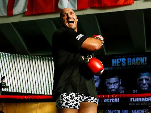 Fury: 'Find me a bigger opponent'