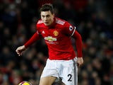 Victor Lindelof in action for Manchester United on December 30, 2017