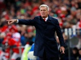Switzerland manager Vladimir Petkovic on November 12, 2017