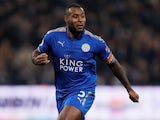 Wes Morgan in action for Leicester City on November 24, 2017