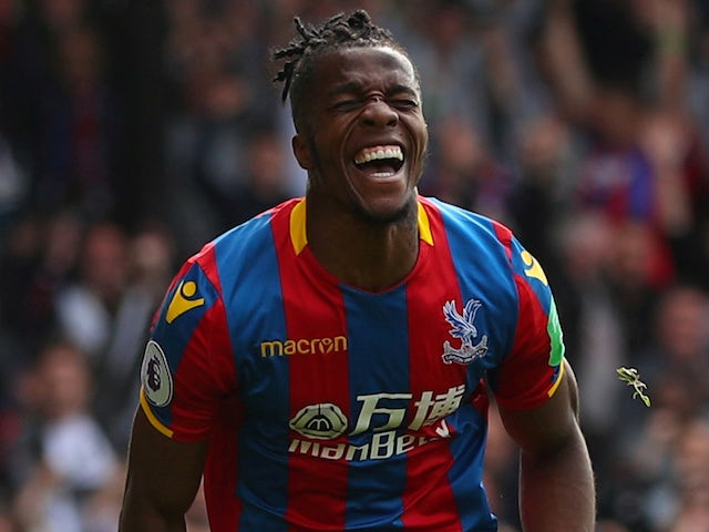 Zaha eyes Crystal Palace goal record
