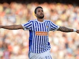 Willian Jose in action for Real Sociedad on April 19, 2018
