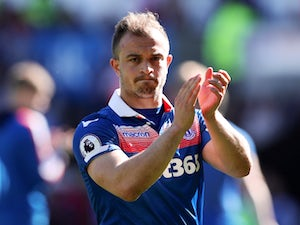 Shaqiri reveals intention to leave Stoke