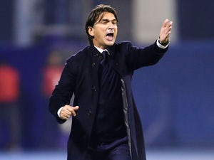 Croatia manager Zlatko Dalic on November 9, 2017