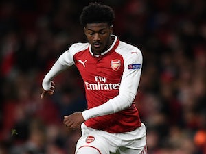 Ainsley Maitland-Niles in action for Arsenal on December 7, 2017
