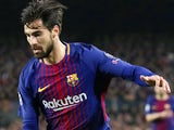Andre Gomes in action for Barcelona in the Champions League on March 14, 2018