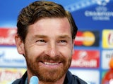 Zenit St Petersburg coach Andre Villas-Boas attends a news conference on March 8, 2016