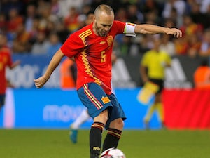 Iniesta dismisses chances of Barca return