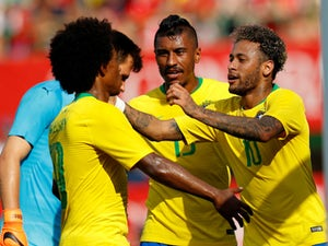Team News: Willian keeps spot in Brazil attack