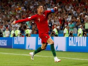 Pique criticises 'diver' Ronaldo