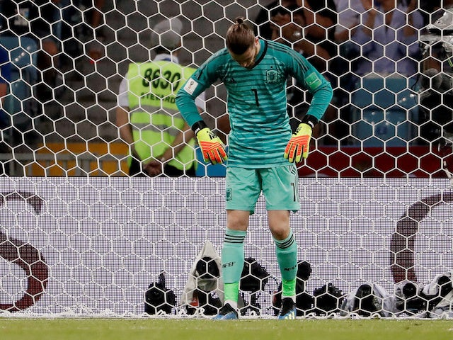 De Gea: 'Spain not supporting me'