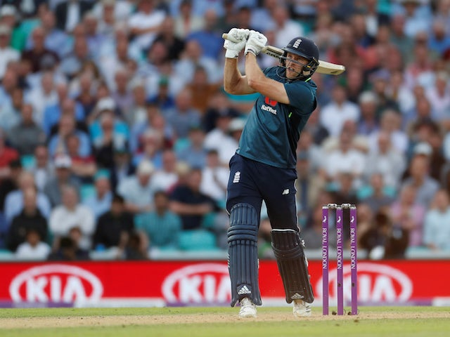 David Willey in action during the ODI between England and Australia on June 13, 2018