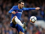 Davide Zappacosta in action for Chelsea in the FA Cup on January 28, 2018