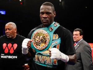 Wilder: 'I will fight Anthony Joshua'