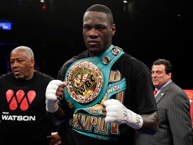 Wilder 'looking forward' to Fury fight