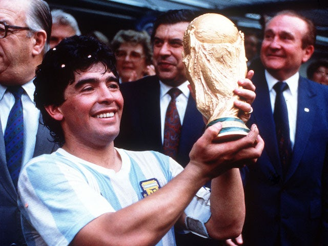 On this day: Barcelona splash world-record sum on Diego Maradona