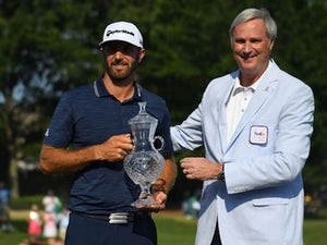 Johnson leads US Open by four shots