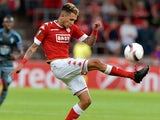 Edmilson Junior in action for Standard Liege in the Europa League on September 15, 2016