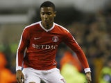 Ezri Konsa in action for Charlton Athletic in December 2016