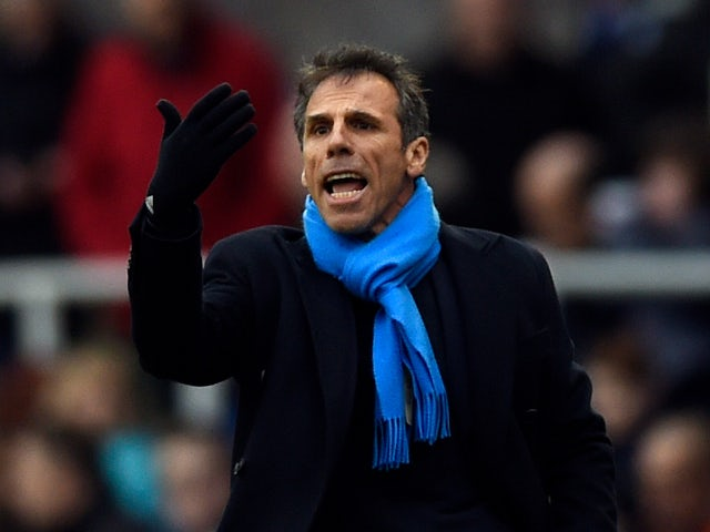 Gianfranco Zola: 'My future is undecided'