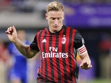 Ignazio Abate in action for AC Milan on August 5, 2016