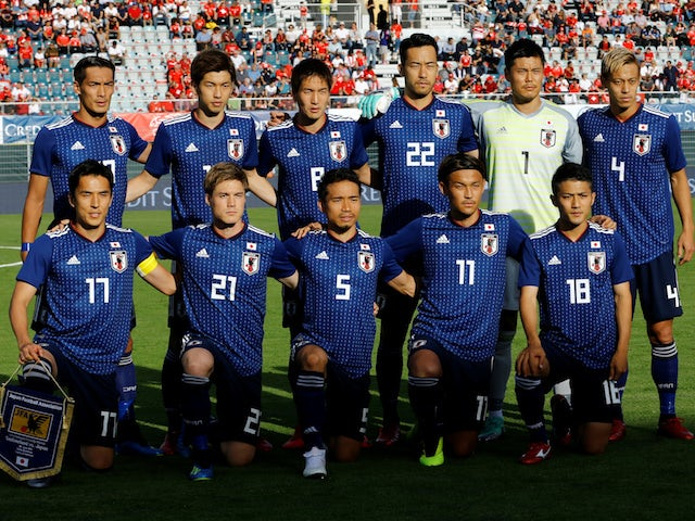 Team News: Shinji Okazaki named in Japan XI