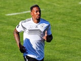 Jerome Boateng in Germany training on May 25, 2018