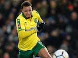 Josh Murphy in action for Norwich City in the FA Cup on January 17, 2018