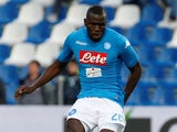 Kalidou Koulibaly in action for Napoli on March 31, 2018