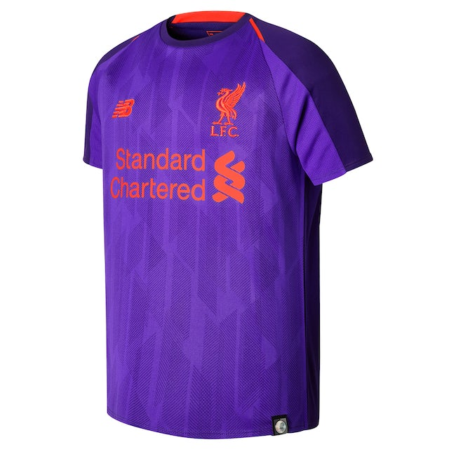 The new purple Liverpool away kit for the 2018-19 season
