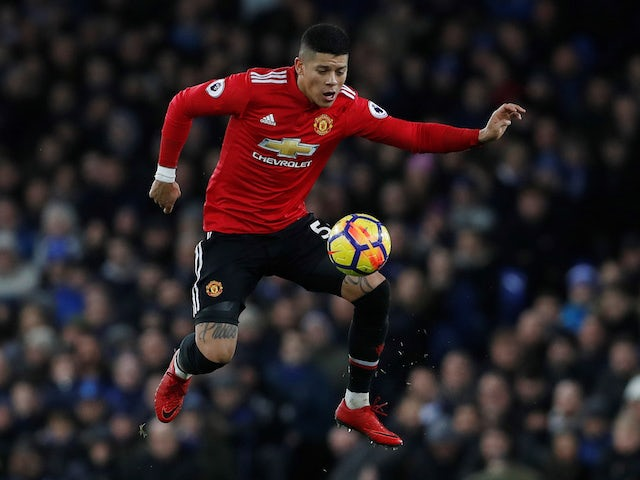 Marcos Rojo injured on United comeback
