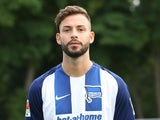 Hertha Berlin's Marvin Plattenhardt on July 12, 2016