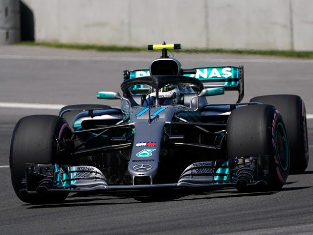 Bottas signs one-year Mercedes extension